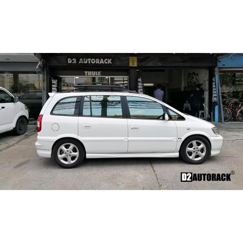แร็คหลังคา Chevrolet Zafira เชฟโรเลต ซาฟิร่า RoofRack