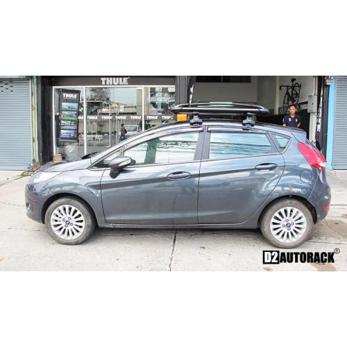 แร็คหลังคา Ford Fiesta ฟอร์ด เฟียสต้า RoofRack