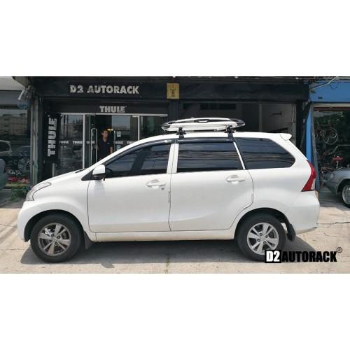 แร็คหลังคา Toyota Avanza โตโยต้า อแวนซ่า  RoofRack