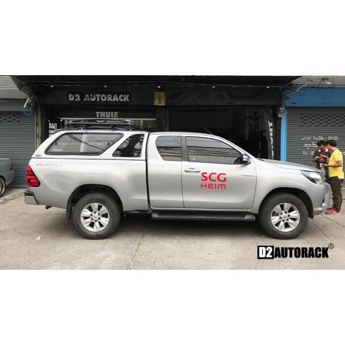 แร็คหลังคา Toyota Revo โตโยต้า รีโว  RoofRack